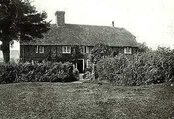 Yew Tree Cottages in 1915 [Z214/3]